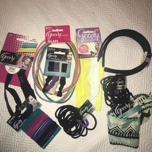 Goody Hair Accessories lot of 64 pieces
